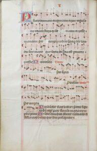 Petrus Wilhelmi de Grudencz: Probleumata enigmatum, Ms. II A 6, fol. 328v (Codex Franus) - with kind permission of Muzeum východních Čech (East Bohemian Museum) in Hradec Králové (Czech Republic).