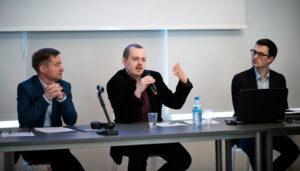 Paweł Gancarczyk, Jan Ciglbauer en Adam Mathias.