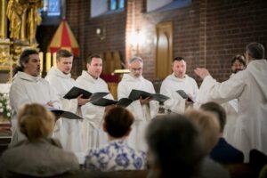 Concert of Schola Gregoriana Pragensis in Grudziądz,16 May 2018.